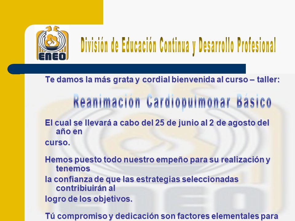 División de Educación Continua y Desarrollo Profesional