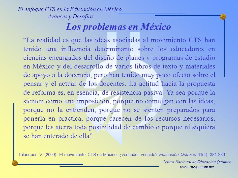 Los problemas en México