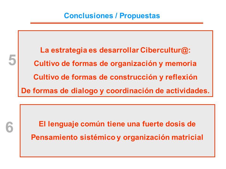 5 6 Conclusiones / Propuestas