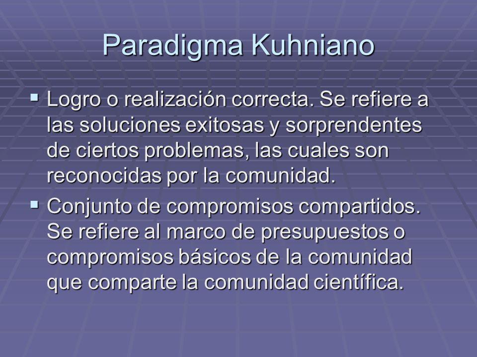Paradigma Kuhniano