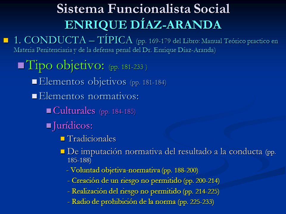 Sistema Funcionalista Social ENRIQUE DÍAZ-ARANDA