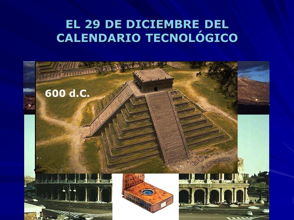 EL 29 DE DICIEMBRE DEL CALENDARIO TECNOLÓGICO