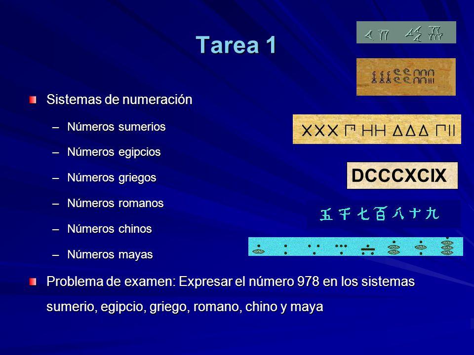 Tarea 1 DCCCXCIX Sistemas de numeración