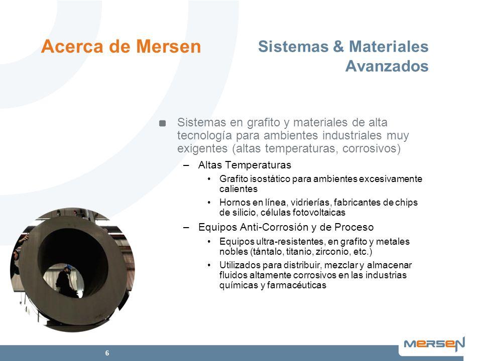 Sistemas & Materiales Avanzados