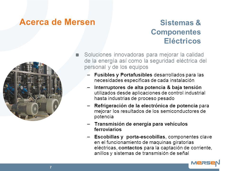 Sistemas & Componentes Eléctricos