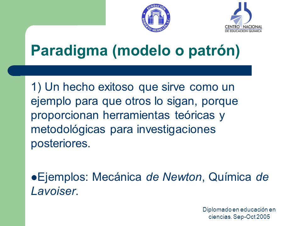 Paradigma (modelo o patrón)