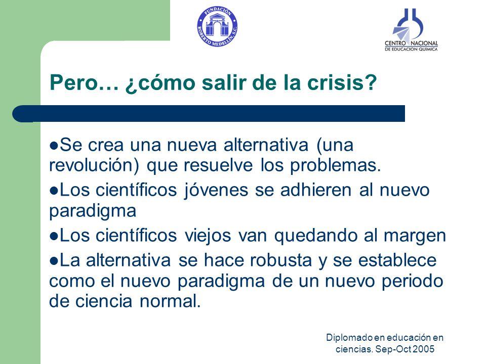 Pero… ¿cómo salir de la crisis