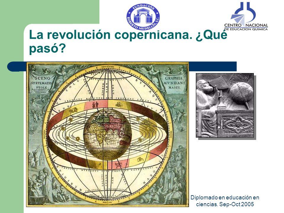 La revolución copernicana. ¿Qué pasó
