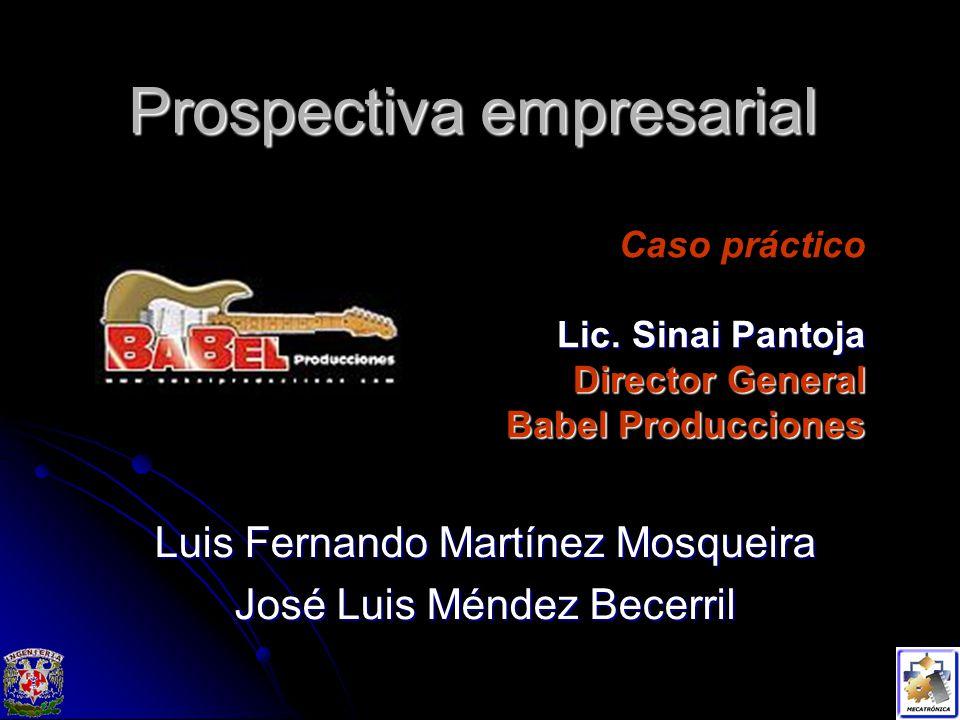 Prospectiva empresarial