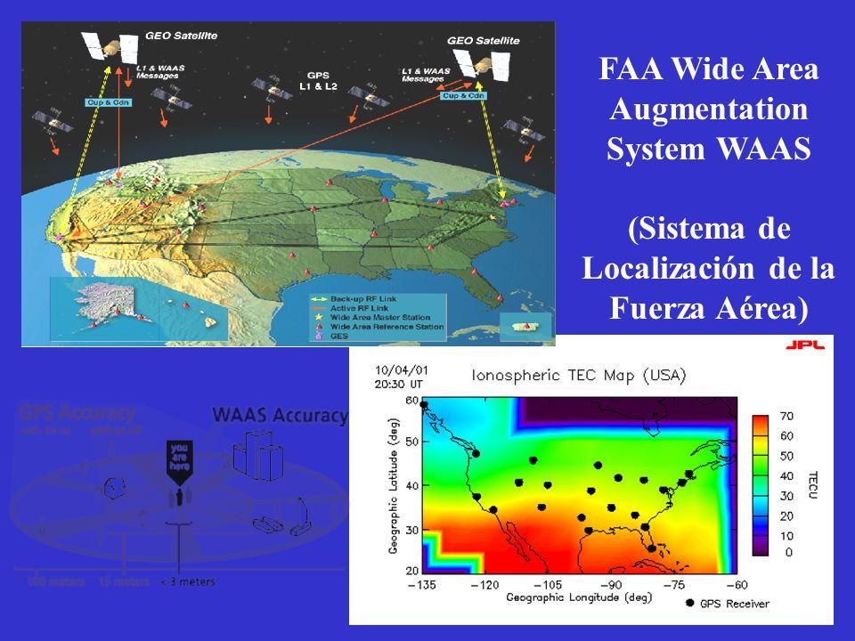 FAA Wide Area Augmentation System WAAS