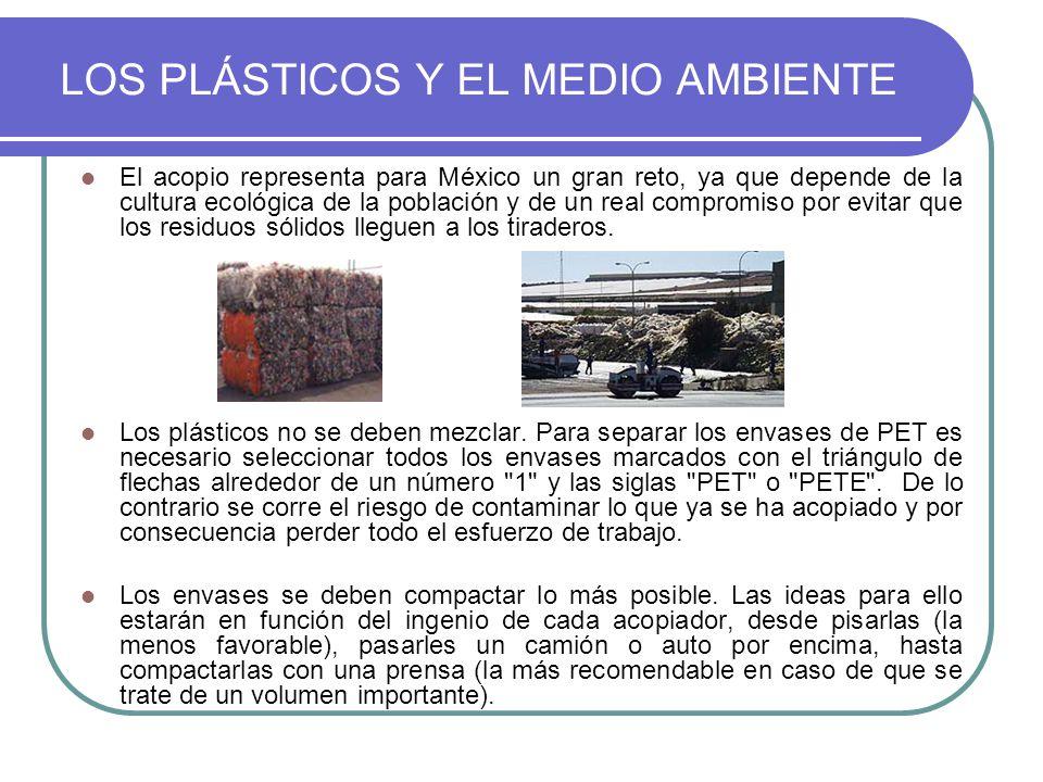 LOS PLÁSTICOS Y EL MEDIO AMBIENTE