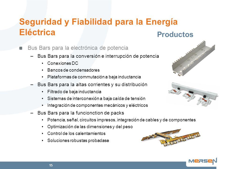 Seguridad y Fiabilidad para la Energía Eléctrica