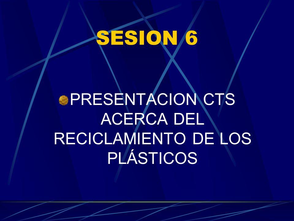 PRESENTACION CTS ACERCA DEL RECICLAMIENTO DE LOS PLÁSTICOS