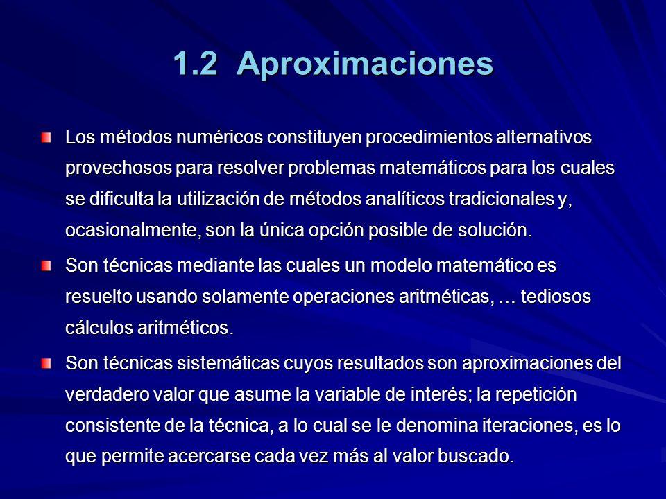 1.2 Aproximaciones