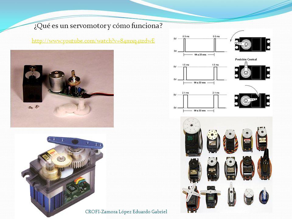 ¿Qué es un servomotor y cómo funciona