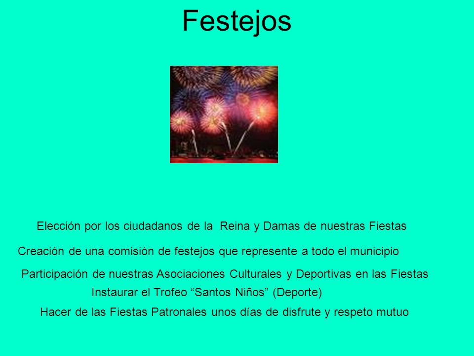 Festejos Elección por los ciudadanos de la Reina y Damas de nuestras Fiestas.