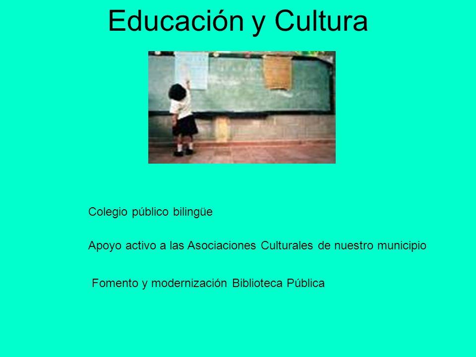 Educación y Cultura Colegio público bilingüe