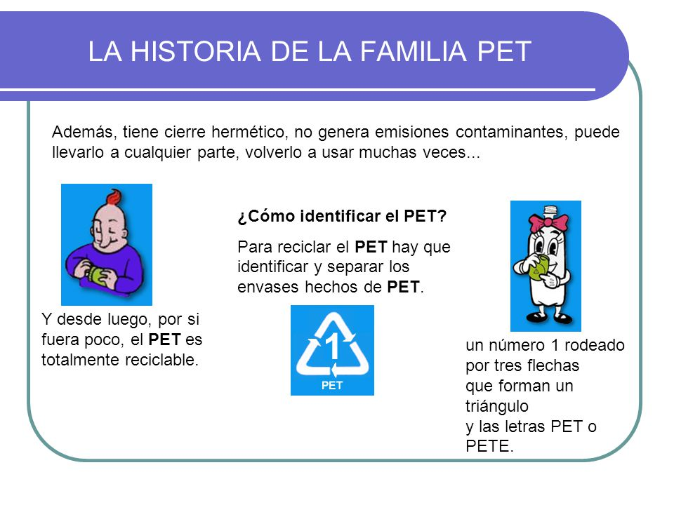LA HISTORIA DE LA FAMILIA PET