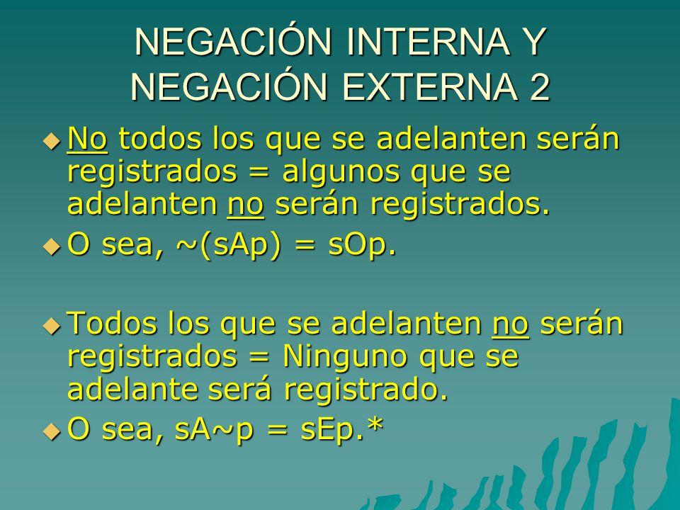 NEGACIÓN INTERNA Y NEGACIÓN EXTERNA 2