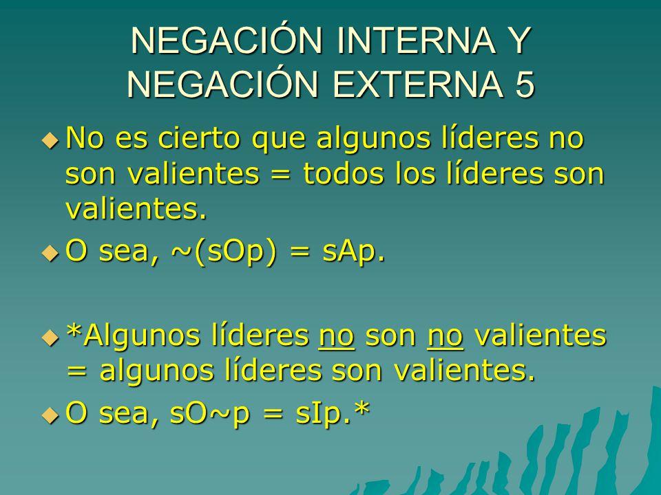 NEGACIÓN INTERNA Y NEGACIÓN EXTERNA 5