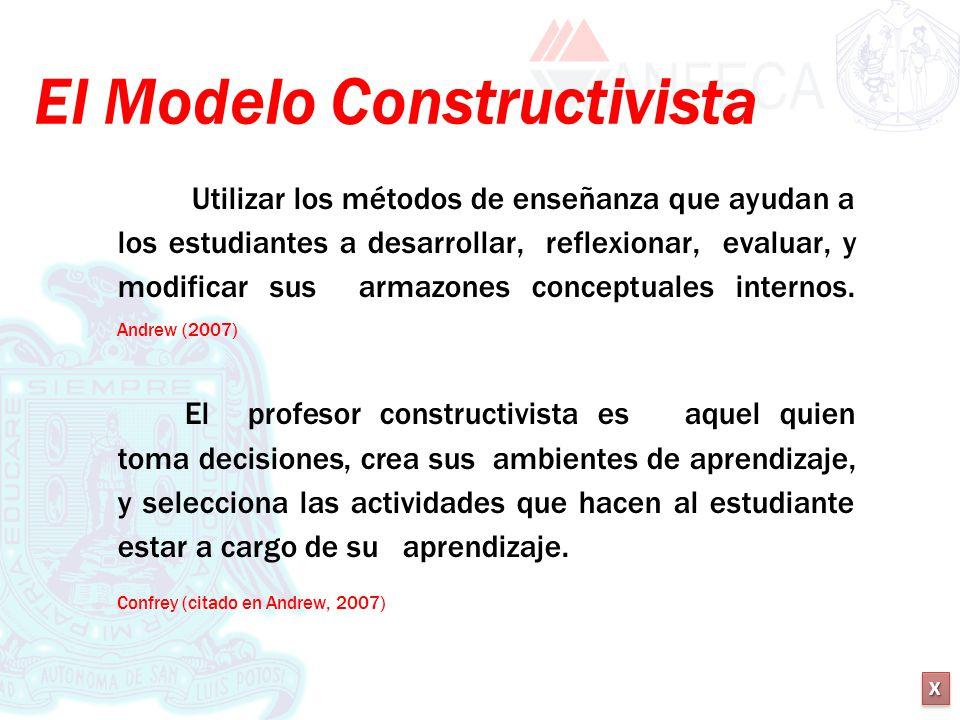 El Modelo Constructivista