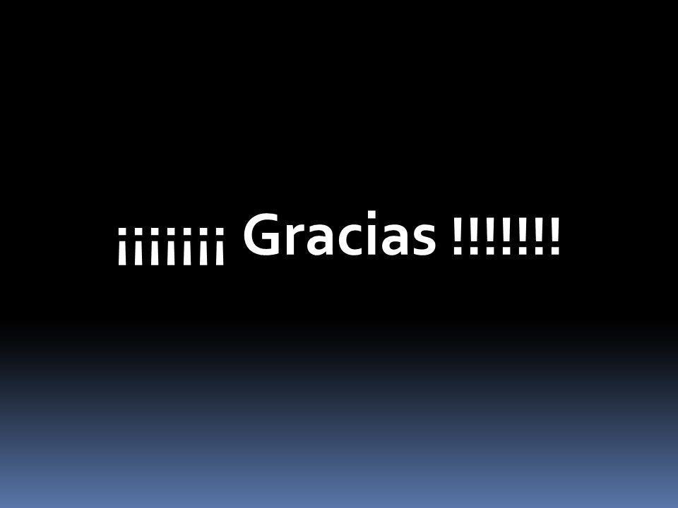 ¡¡¡¡¡¡¡ Gracias !!!!!!!