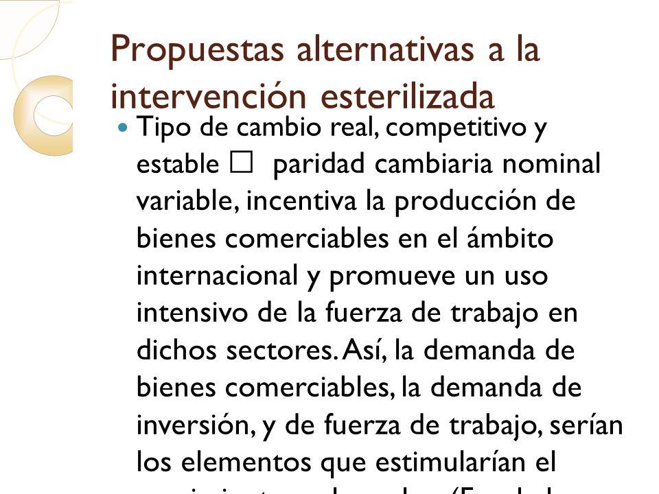 Propuestas alternativas a la intervención esterilizada