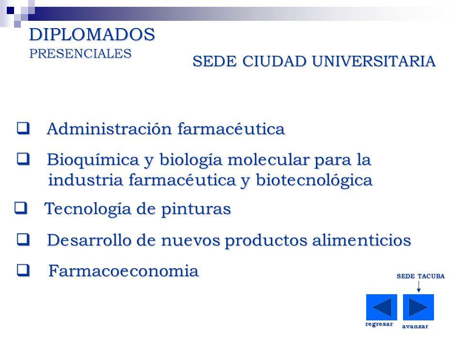 DIPLOMADOS Administración farmacéutica