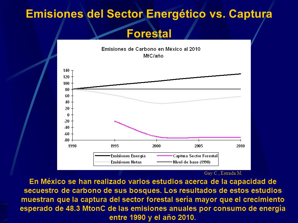 Emisiones del Sector Energético vs. Captura Forestal