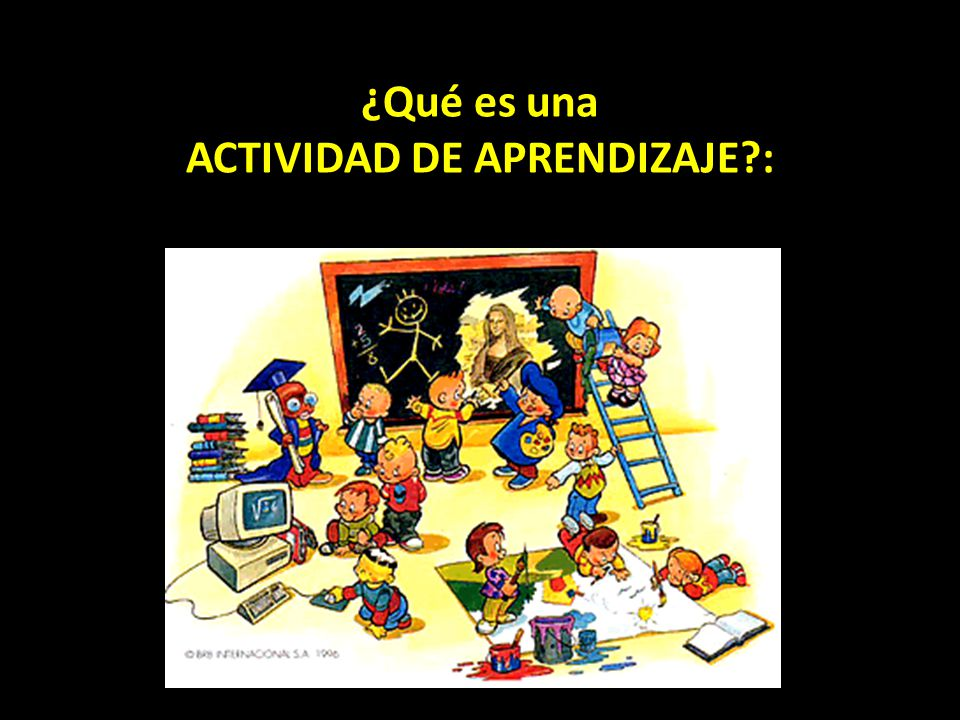 ACTIVIDAD DE APRENDIZAJE :