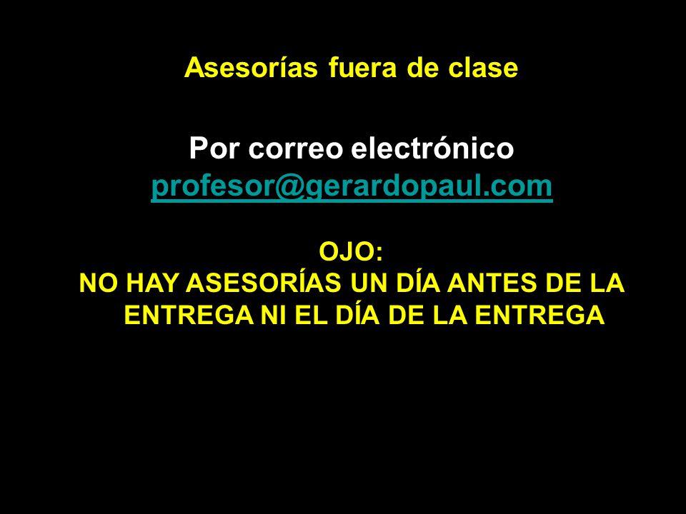 Por correo electrónico profesor@gerardopaul.com