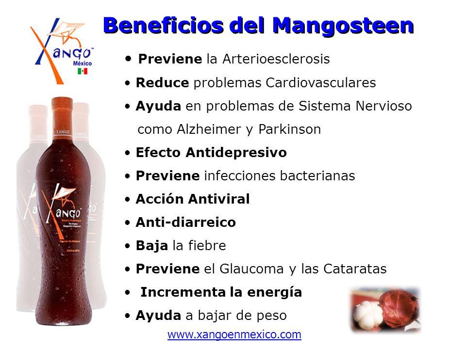Beneficios del Mangosteen