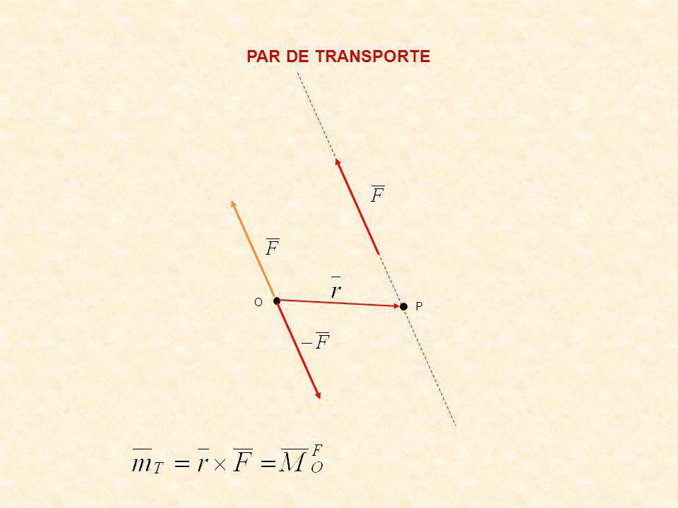 PAR DE TRANSPORTE O P