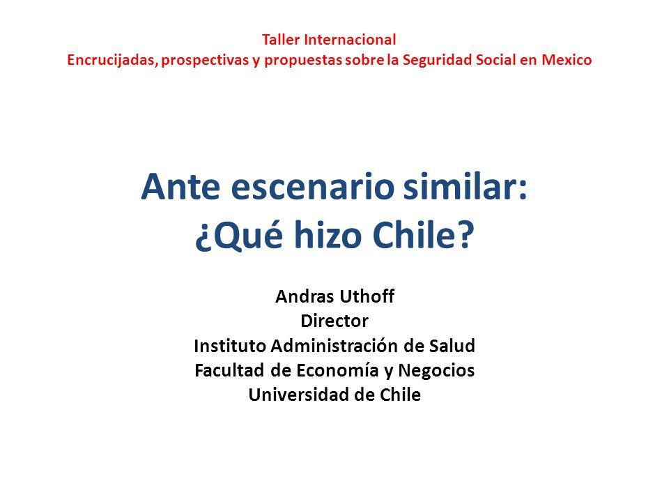 Ante escenario similar: ¿Qué hizo Chile