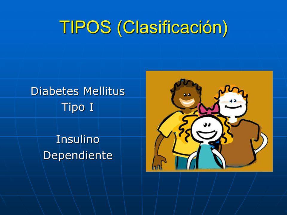 TIPOS (Clasificación)