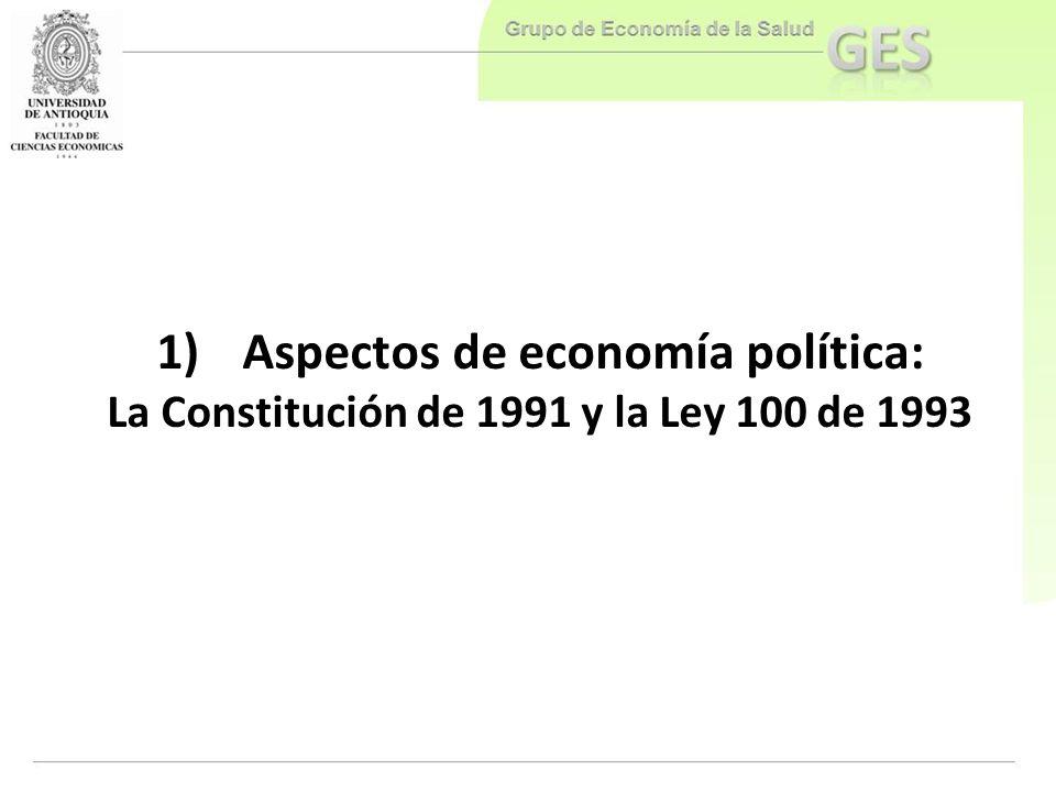 Aspectos de economía política: