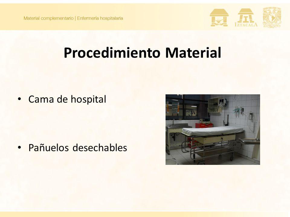Procedimiento Material