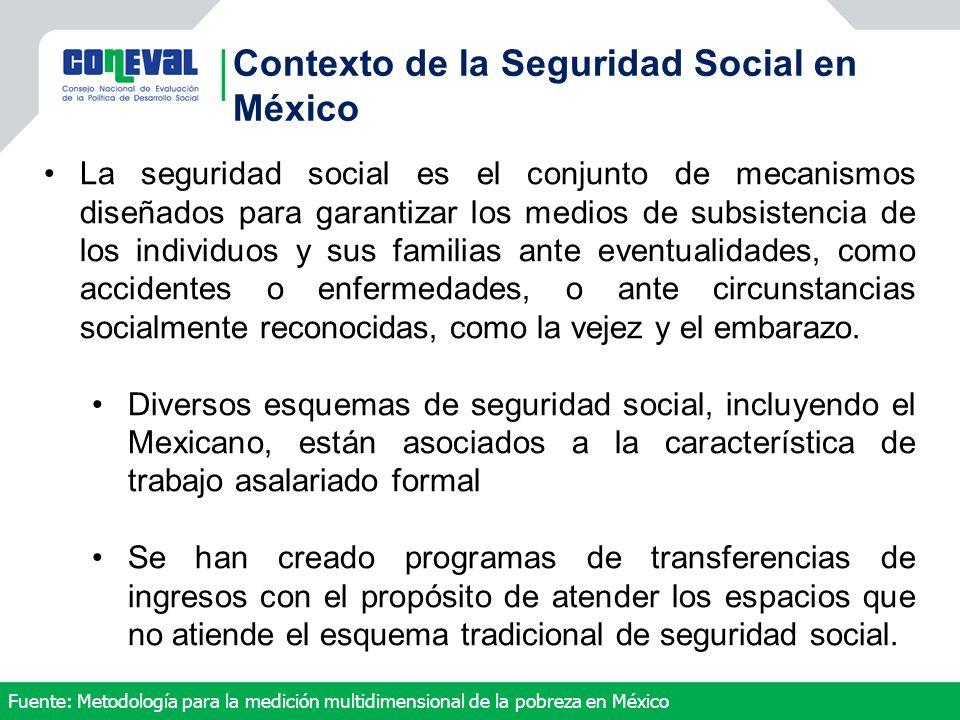 Contexto de la Seguridad Social en México