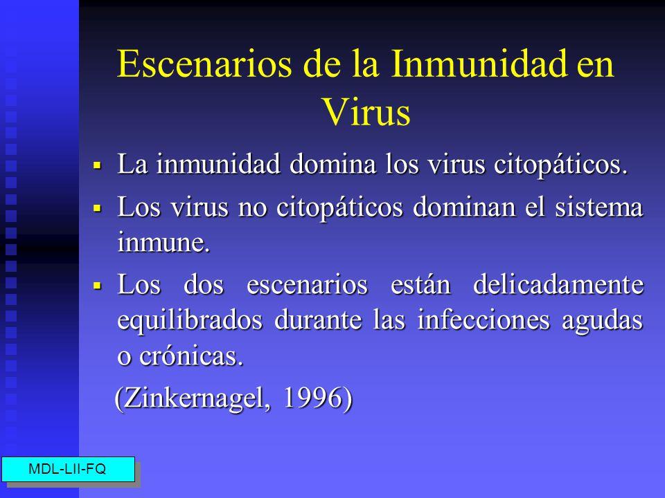 Escenarios de la Inmunidad en Virus
