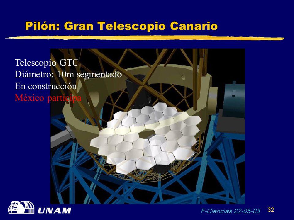Pilón: Gran Telescopio Canario