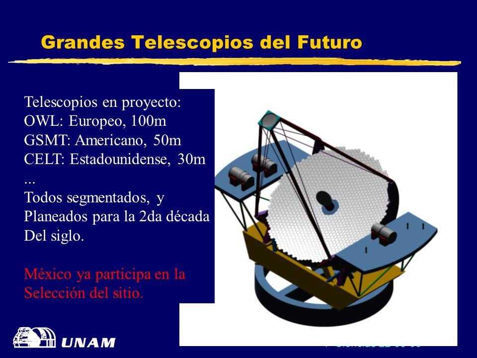 Grandes Telescopios del Futuro