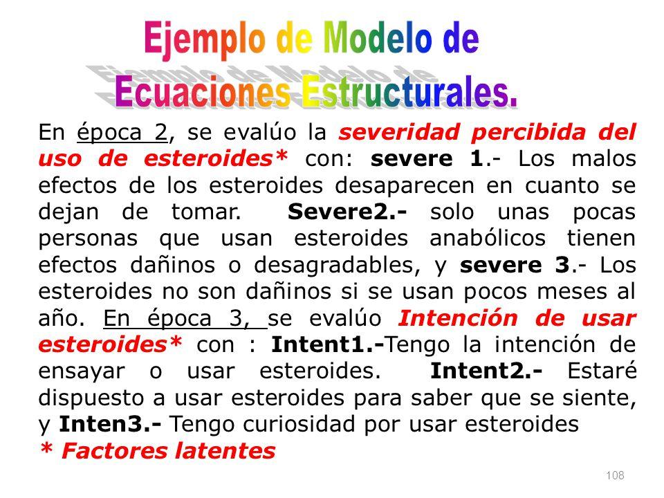 Ecuaciones Estructurales.