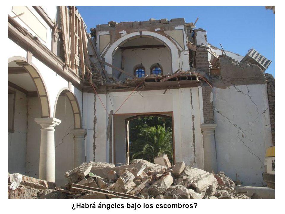 ¿Habrá ángeles bajo los escombros