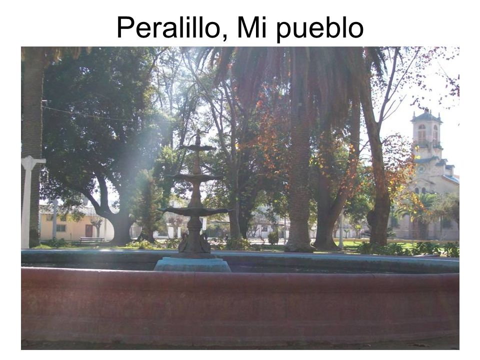 Peralillo, Mi pueblo