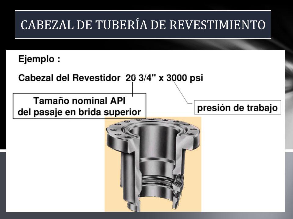 CABEZAL DE TUBERÍA DE REVESTIMIENTO
