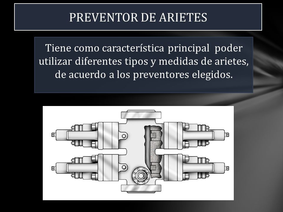 PREVENTOR DE ARIETES