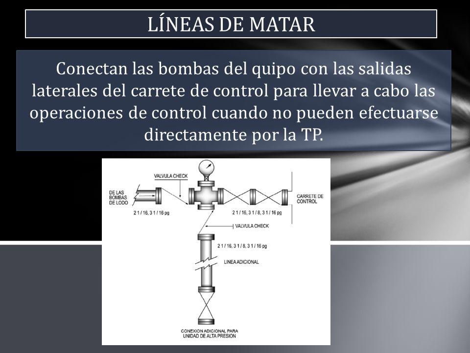 LÍNEAS DE MATAR