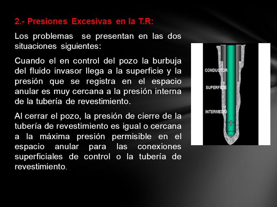 2. - Presiones Excesivas en la T