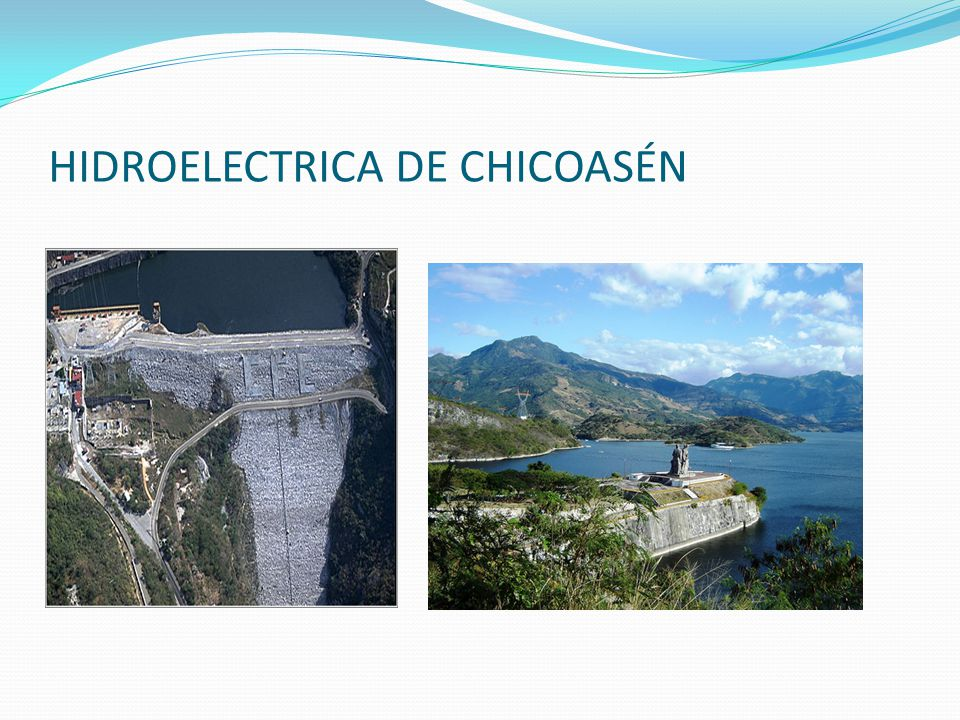HIDROELECTRICA DE CHICOASÉN