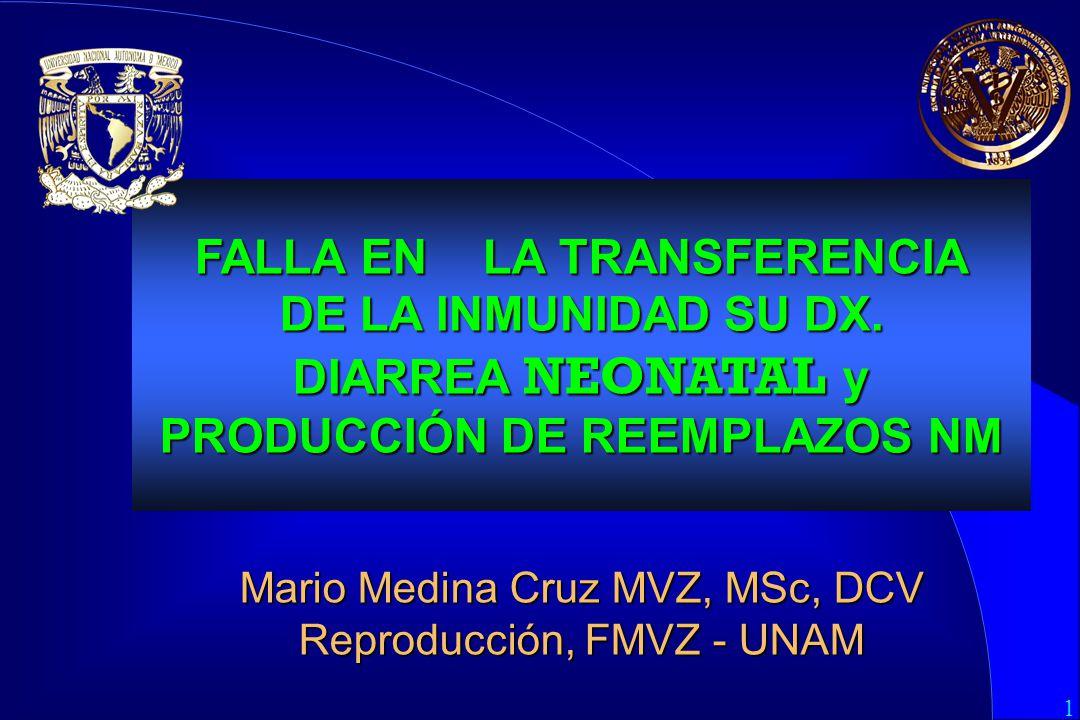 FALLA EN. LA TRANSFERENCIA DE LA INMUNIDAD SU DX